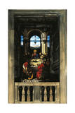 Last Supper, Stained Glass Giclee Print by Giuseppe Bertini