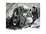 Vilhjalmar Stefansson Discovered Blond Eskimos Giclee Print by Graham Coton