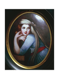 Portrait of Emma Hamilton Giclee Print by George Romney