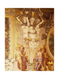Frescoes and Stucco Works Giclee Print by Rosso Fiorentino