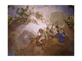 Gods of Olympia Giclee Print by Jacopo Guarana