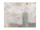 Clouds on Westminster Giclee Print by Giuseppe De Nittis