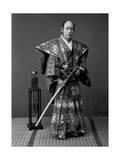 Samurai Warrior, 1880s Giclee Print by Kusakabe Kimbei