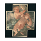 Putti Carrying Mitre, 1613 Giclee Print by Guido Reni