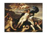 Adduction of Europa Giclee Print by Luca Giordano