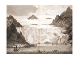 View of an Iceberg from a Voyage Towards the North Pole Undertaken by His Majesty's Command, 1774 Giclee Print by John Cleveley the Younger