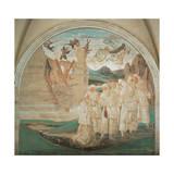 God Punishing Fiorenzo, 1497-1498 Giclee Print by Luca Signorelli