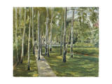 The Artist's Garden, 1918 Giclee Print by Max Liebermann