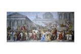 Triumph of Trajan, 1820 Giclee Print by Luigi Ademollo