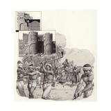 Work on the First Walls of Cairo Began in 969Ad Giclee Print by Pat Nicolle