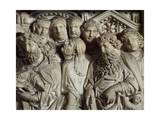 Presentation in Temple, Panel from Pulpit of Baptistery of St John, 1255-1260 Giclee Print by Nicola Pisano