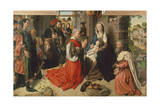 The Adoration of Magi Giclee Print by Hugo van der Goes