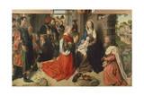The Adoration of Magi Giclee Print by Hugo van der Goes