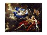 Diana and Endymion Giclee Print by Luca Giordano