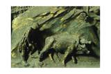 First Mens' Work, Panel Giclée-tryk af Lorenzo Ghiberti
