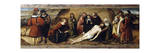 Mourning Dead Christ, 1513, Predella of Altarpiece of Ognissanti Giclee Print by Ludovico Brea