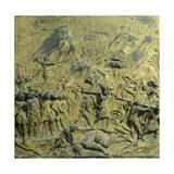 Slaying Goliath, Panel Giclee Print by Lorenzo Ghiberti
