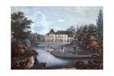 View of Malmaison Castle in Ile-De-France Giclee Print by Henri Courvoisier-Voisin