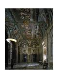 Loggia of Cupid and Psyche with Fresco Cycle Stories of Cupid and Psyche Giclee Print by Raffaello Sanzio