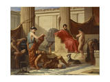 Education in Sparta, 1889 Giclee Print by Luigi Mussini
