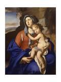 Madonna y el niño Lámina giclée por Massimo Stanzione