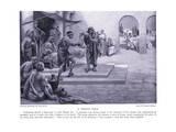 A Roman Sale Giclee Print by Norman Prescott Davies