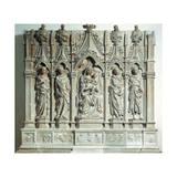Trentltar, 1416-1422 Giclée-tryk af Jacopo Della Quercia