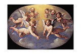 Glory of Angels Giclee Print by Giuseppe Cesari