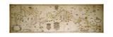 Map of the Po River from Colorno to Piacenza, 1605 Giclee Print by Smeraldo Smeraldi