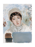 Bust of a Woman Giclee Print by Giuseppe De Nittis