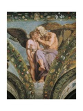 Detail from Fresco Cycle Stories of Cupid and Psyche, 1518 Giclee Print by Raffaello Sanzio