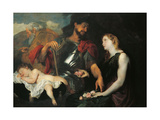 The Three Ages of Man, 1625 Giclee Print by Sir Anthony van Dyck