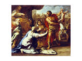 Judgement of Solomon Giclee Print by Luca Giordano
