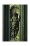 Prophetess, Panel Giclée-tryk af Lorenzo Ghiberti