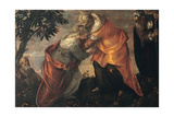 The Visitation, 1588 Giclee Print by Jacopo Robusti Tintoretto
