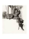 Douglas Fairbanks Giclee Print by Ralph Bruce