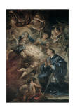 Death of St Joseph Giclee Print by Luca Giordano