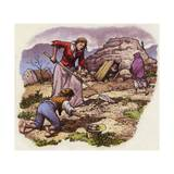 The Great Famine of Ireland in 1849 Giclee Print by Pat Nicolle