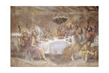 Last Supper Giclee Print by Luigi Ademollo