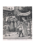 The Wedding of Jack of Newbury: the Bride's Procession Giclee Print by Henry Marriott Paget
