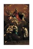 The Ecstasy of St Stanislaus Kostka, 1728 - 1729 Giclée-tryk af Giuseppe Maria Crespi
