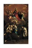 The Ecstasy of St Stanislaus Kostka, 1728 - 1729 Giclee Print by Giuseppe Maria Crespi