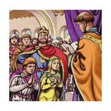 The Marriage of Wandrille, Later Saint Wandrille Giclee Print by Pat Nicolle