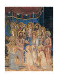 The Majesty, 1313-1315 Giclée-Druck von Simone Martini
