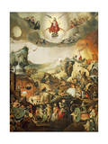 Last Judgment, Circa 1554 Giclee Print by Pieter Huys