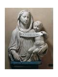 Holy Virgin with Infant Saviour Holding Scroll, 1446-1449 Giclee Print by Luca Della Robbia