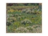 The Pond Garden, Hampton Court Giclee Print by Henri Eugene Augustin Le Sidaner