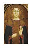 St Agatha Giclee Print by Jacopo Del Casentino