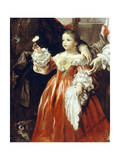 Childhood Figure Giclee Print by Luca Giordano