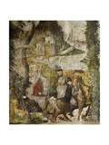 Hunting Scene, Ca 1548 Giclee Print by Marcello Fogolino